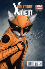 WOLVERINE AND THE X-MEN #1 VARIANT B