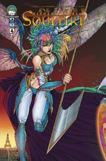 ALL NEW SOULFIRE #4 COVER A