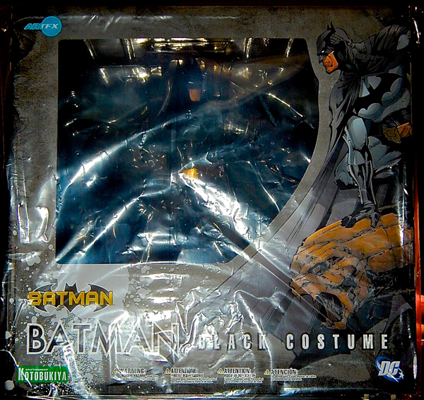 Batman Black Costume Kotobukiya