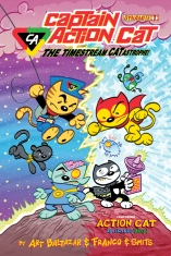 CAPTAIN ACTION CAT THE TIMESTREAM CATASTROPHE #1