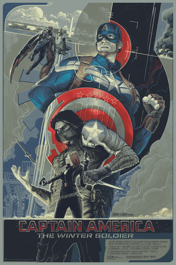 Captain America- The Winter Soldier by Rich Kelly