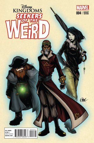DISNEY KINGDOMS SEEKERS OF THE WEIRD #4 VARIANT