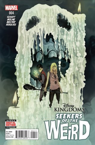 DISNEY KINGDOMS SEEKERS OF THE WEIRD #4
