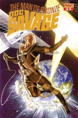 DOC SAVAGE #5 ROSS COVER
