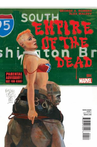 EMPIRE OF THE DEAD ACT ONE #4