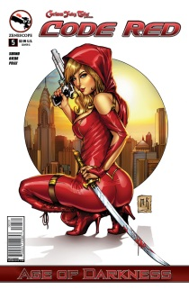 GRIMM FAIRY TALES CODE RED #5 COVER C