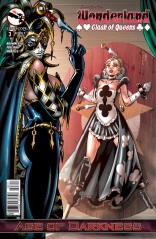 GRIMM FAIRY TALES WONDERLAND CLASH OF QUEENS #3 COVER A