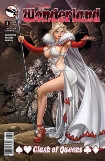 GRIMM FAIRY TALES WONDERLAND CLASH OF QUEENS #3 COVER D
