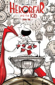 HEROBEAR AND THE KID SAVING TIME #1 COVER A