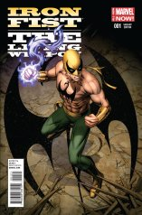 IRON FIST THE LIVING WEAPON #1 VARIANT A