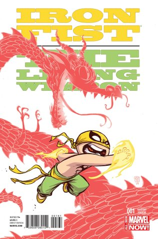 IRON FIST THE LIVING WEAPON #1 VARIANT C