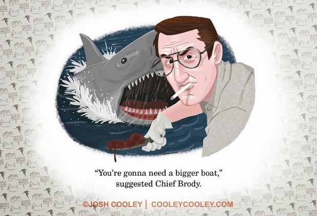Jaws by Josh Cooley