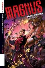 MAGNUS ROBOT FIGHTER #2 LAPACCHINO COVER