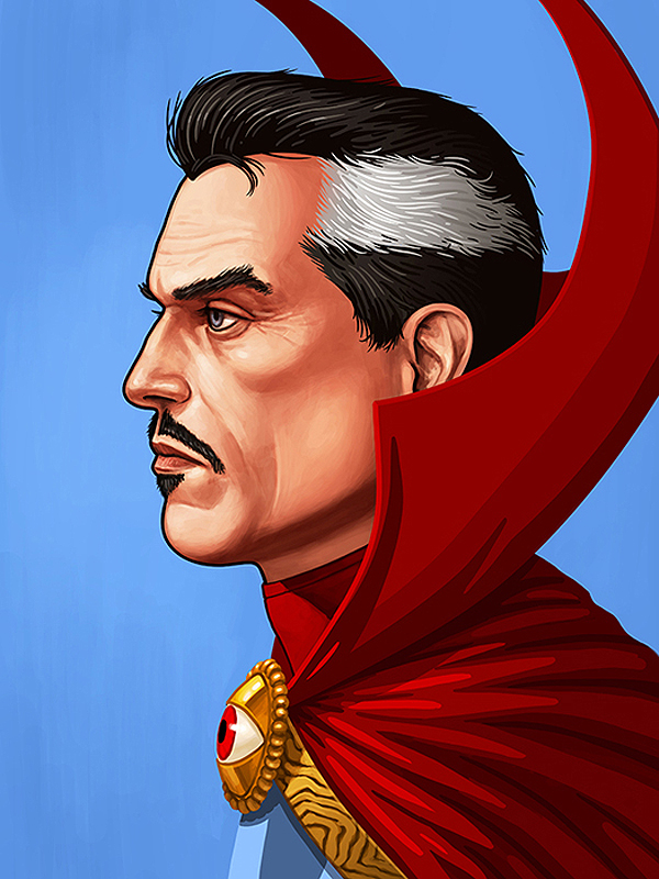 Marvel Portraits Doctor Strange by <a href=