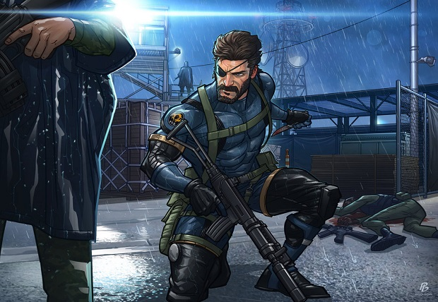Metal Gear Solid V Ground Zeroes by Patrick Brown