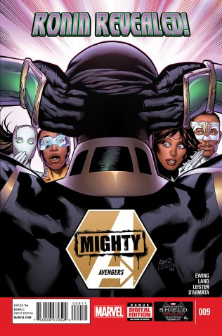 MIGHTY AVENGERS #9