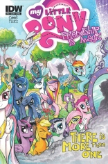 MY LITTLE PONY FRIENDSHIP IS MAGIC #18 COVER A