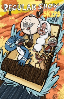 REGULAR SHOW SKIPS #6 COVER A