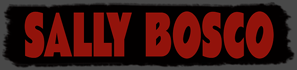 SALLY BOSCO Contributor's Page Nameplate