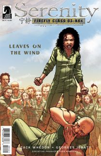 SERENITY LEAVES ON THE WIND #4 JEANTY COVER