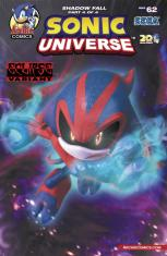 SONIC UNIVERSE #62 VARIANT