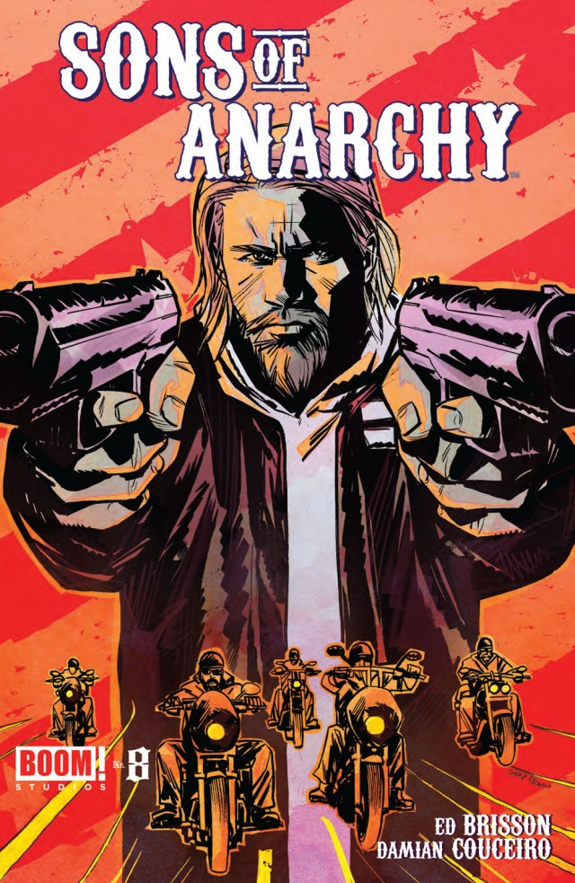 Sons of Anarchy #8 Cover