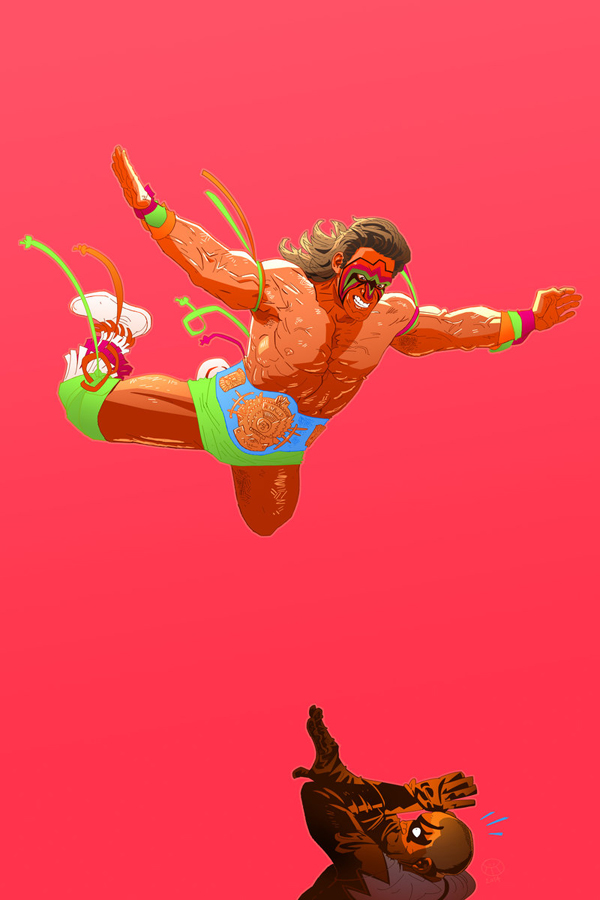 The Ultimate Warrior by Carl Pearce