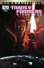 TRANSFORMERS WINBLADE #1 VARIANT