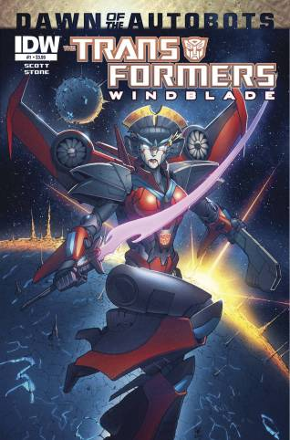 TRANSFORMERS WINBLADE #1