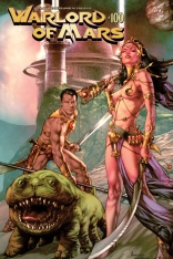 WARLORD OF MARS #100 ANACLETO COVER