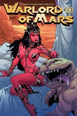 WARLORD OF MARS #100 LAPACCHINO COVER