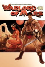 WARLORD OF MARS #100 NEVES COVER