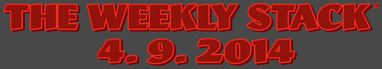 Weekly Stack 4.9.14 Banner