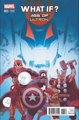 WHAT IF AGE OF ULTRON #3 VARIANT