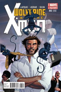 WOLVERINE AND THE X-MEN #3 VARIANT