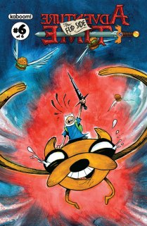 ADVENTURE TIME THE FLIP SIDE #6 COVER B