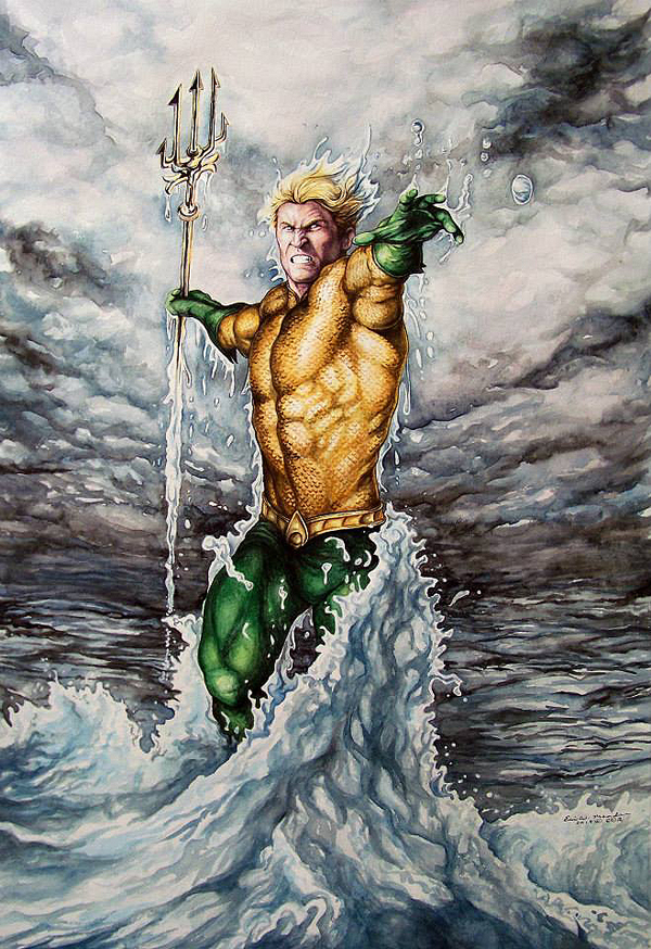 Aquaman by <a href=