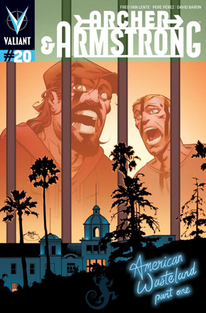 Archer & Armstrong #20