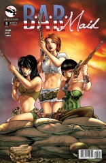 BAR MAID #5 COVER A