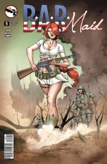 BAR MAID #5 COVER B