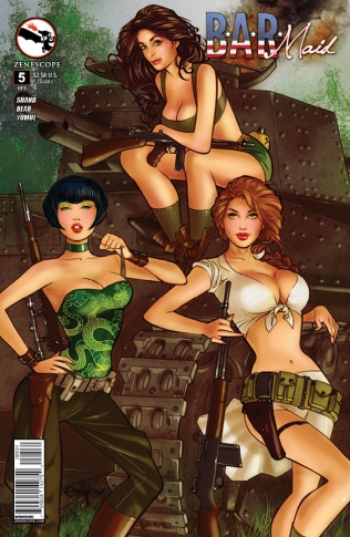 BAR MAID #5 COVER C