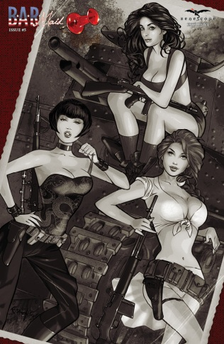 BAR MAID #5 COVER D