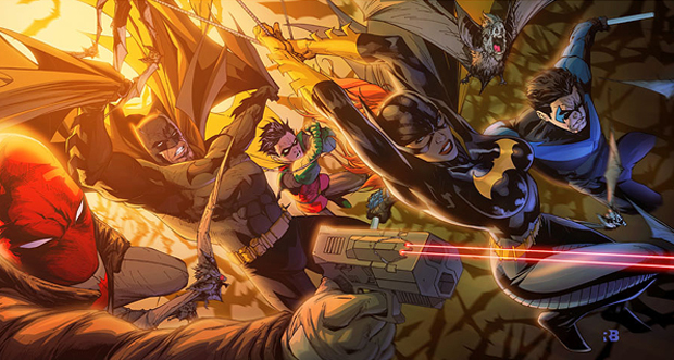 Bat Family for Fun by Ryan Benjamin