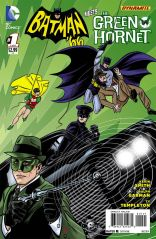 BATMAN 66 MEETS GREEN HORNET #1 VARIANT