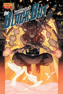 BLACK BAT #10 SUB COVER