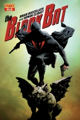 BLACK BAT #11 LEE COVER