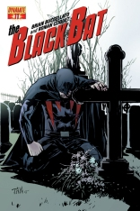 BLACK BAT #11 SUB COVER