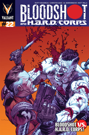 Bloodshot and Hard Corps #22