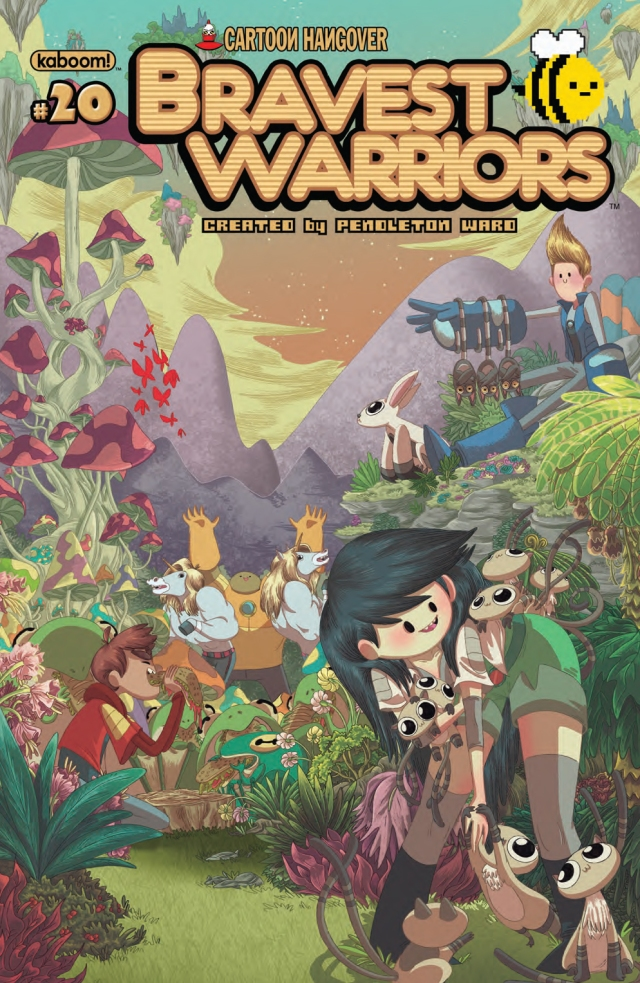 Bravest Warriors #20 Cover A