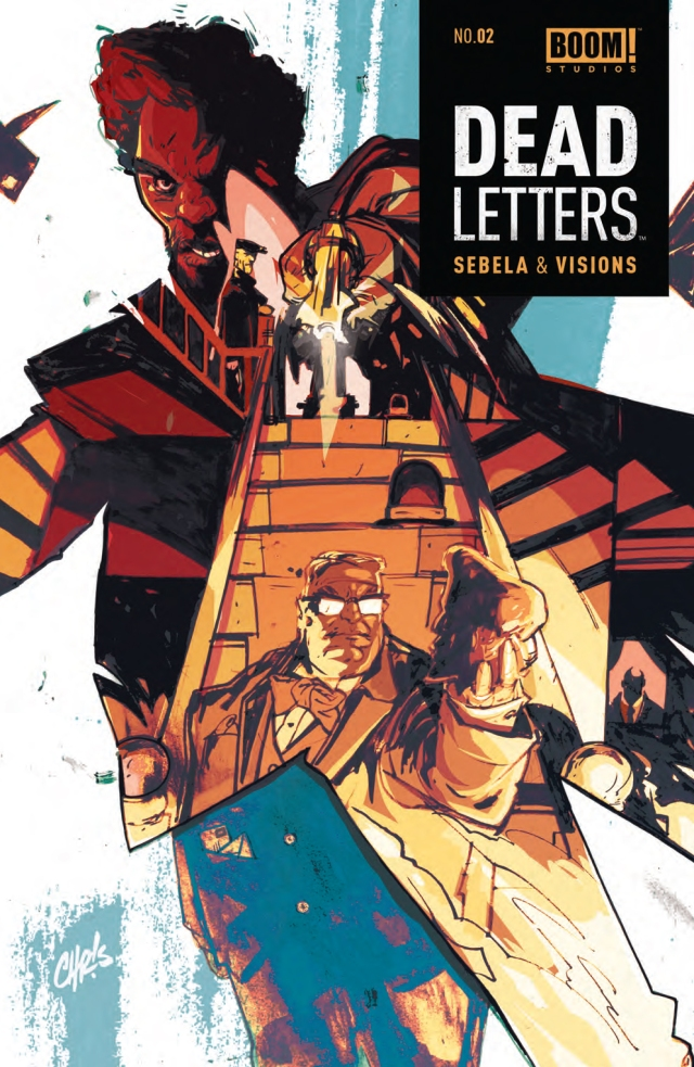 Dead Letters #2 Cover